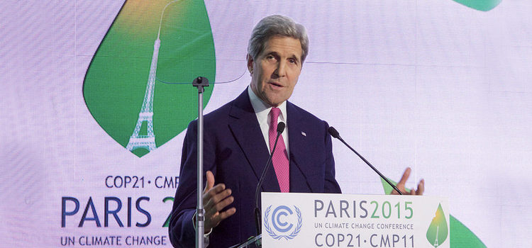 John Kerry Speaking at COP21 in Paris