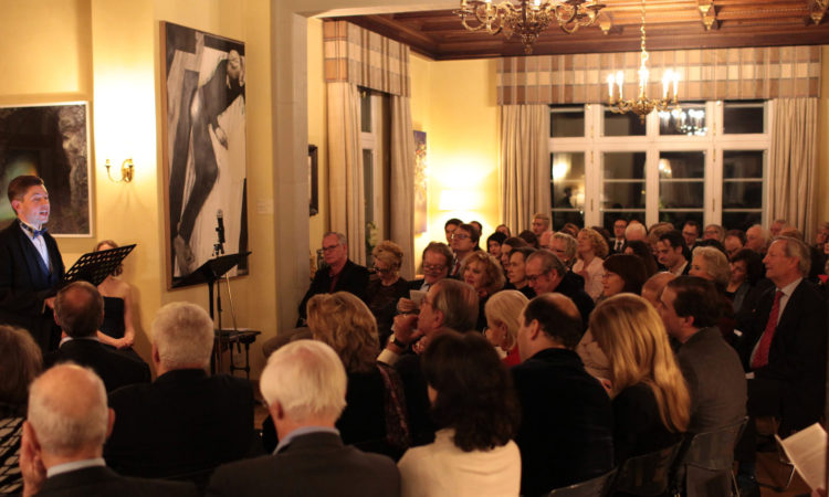 Paul Bowles Concert at the Ambassador's residence
