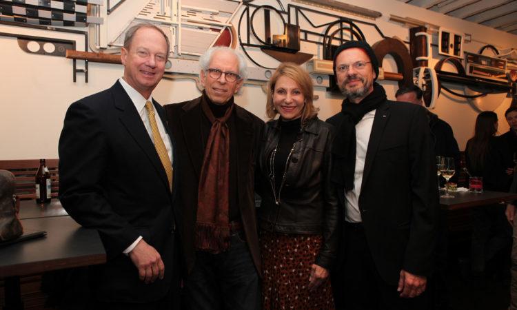 Ambassador Emerson, Stephen Shore, Kimberly-Marteau Emerson and Stephan Erfurt, Director CO Berlin