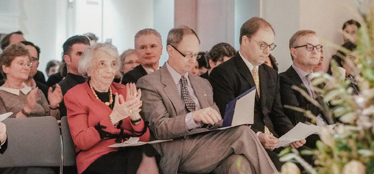 Ambassador Emerson at Margot Friedlander Award Ceremony