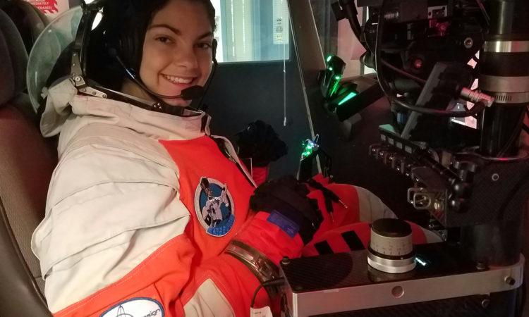 Alyssa Carson (15) hat ein großes Ziel: Sie trainiert, um unter den ersten Astronauten auf dem Mars zu sein.