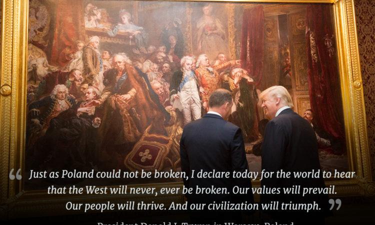 Zwei Männer vor einem Gemälde (Foto: White House/Shealah Craighead)