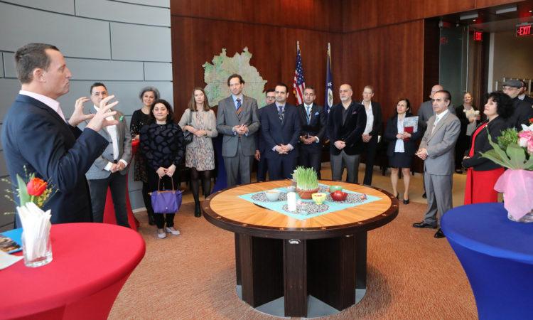 Ambassador's Nowruz reception