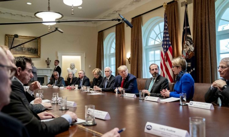 President Trump and Members of the Coronavirus Task Force