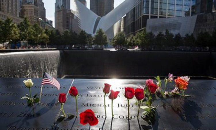 Ground Zeromit Rosen (Foto: National September 11 Memorial and Museum)