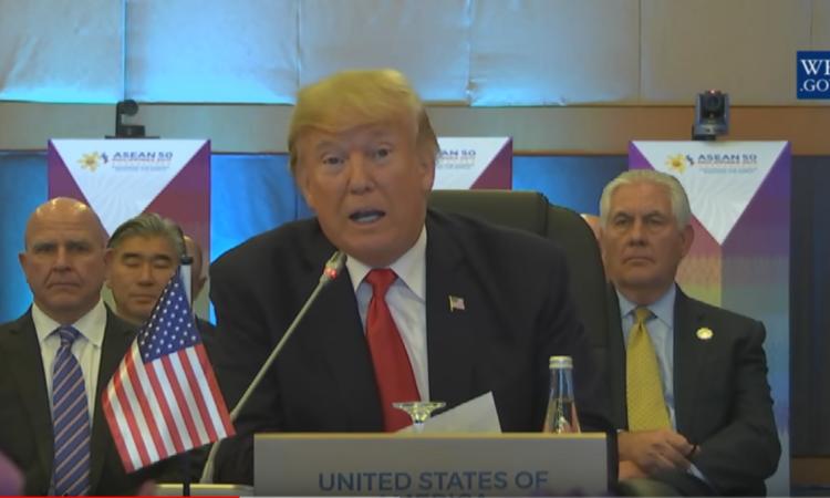US-Präsident Donald J. Trump