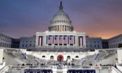 Aufnahme des US-Kapitols zur Amtseinführung von Präsident Trump im Jahr 2017