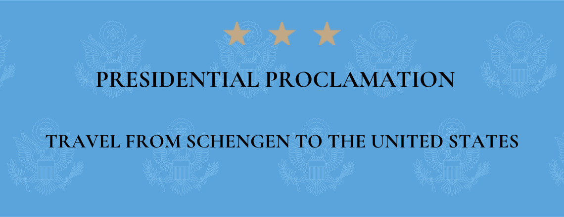 March 11 Presidential proclamation on travel to the U.S.