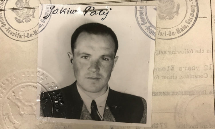 Palij US visa photo 1949 a1