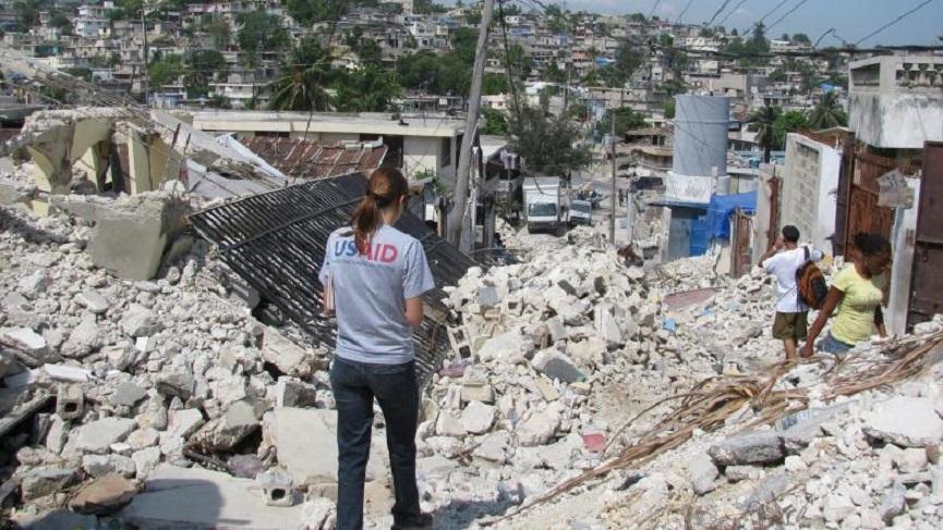 Mitarbeiterr des Krisenreaktionsteams von USAID beim Erdbeben in Haiti (Foto: US-Außenministerium)