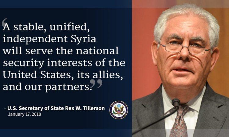 US-Außenminister Tillerson Foto: US-Außenministerium