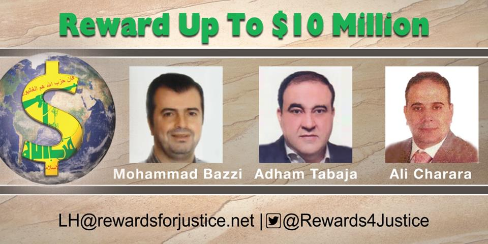 Rewards for Justice is offering a reward of up to $10 million for information leading to the disruption of the financial mechanisms of the global terrorist organization Lebanese Hizballah.