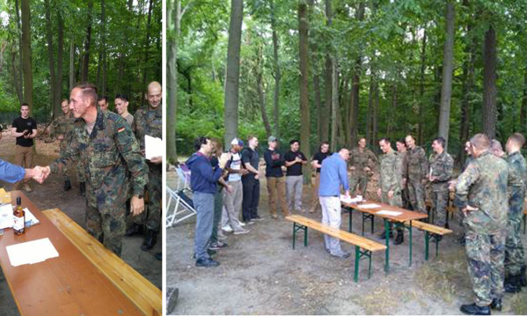 Berlin RSO's first Three-Gun-Competition with the German Army