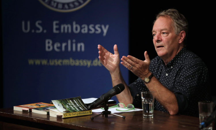 A literary harvest: Tom Drury opens the fall program of the U.S. Embassy Literature Series