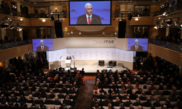 VP Pence MSC 2019