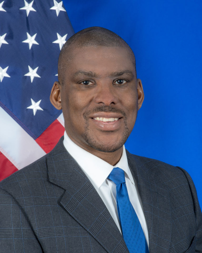 Photo of Ambassador Dereck J. Hogan