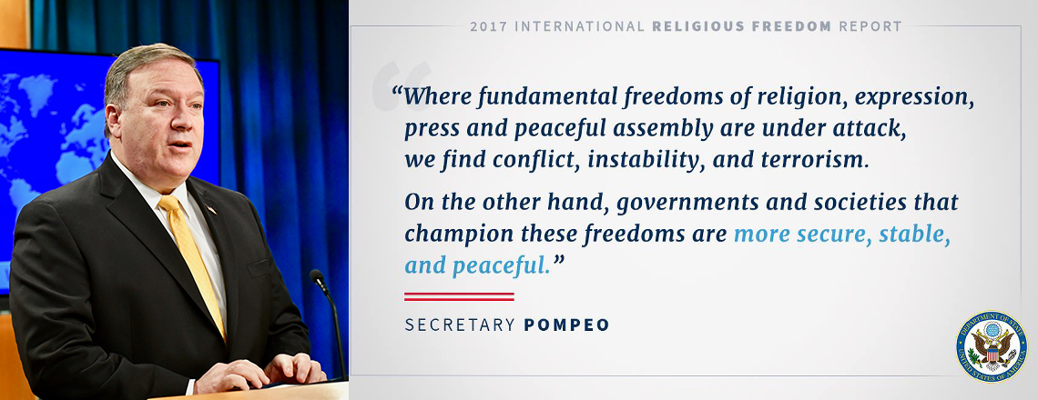 2017 Annual Report on International Religious Freedom
