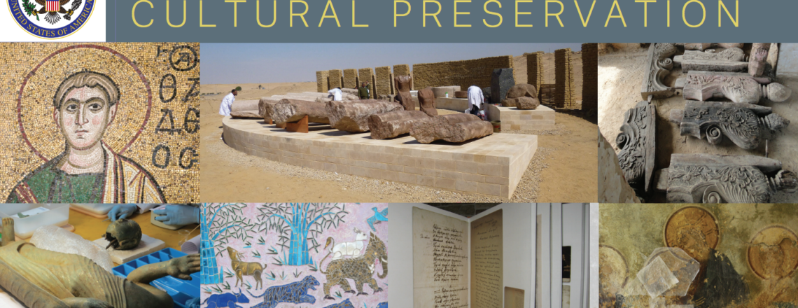 Ambassadors Fund for Cultural Preservation – CALL FOR PROPOSALS FOR 2019