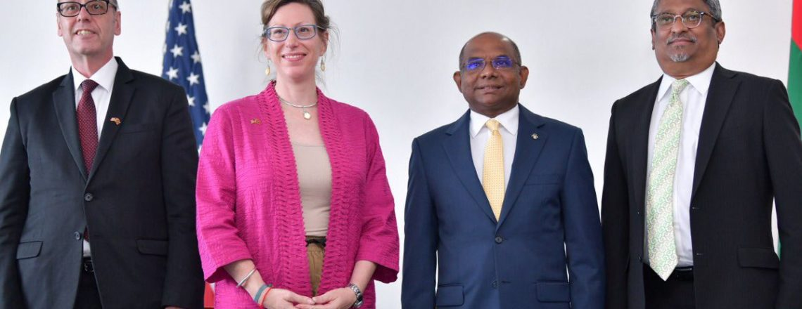 United States, Maldives Sign Landmark Assistance Agreement