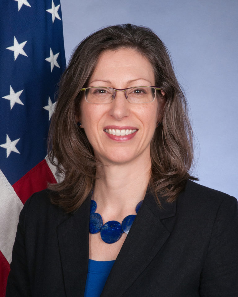 Photo of Ambassador Alaina Teplitz