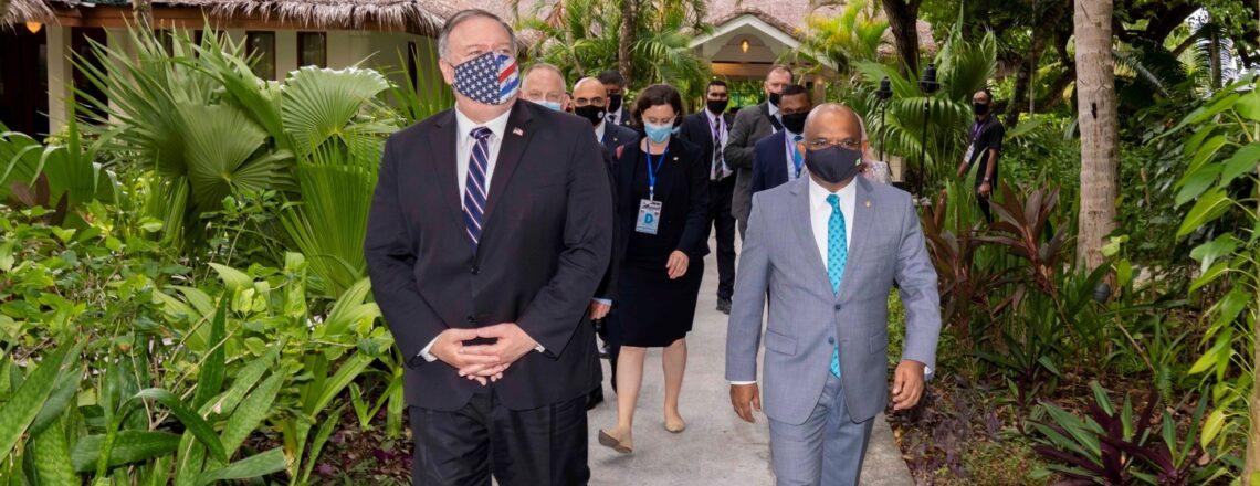 Secretary Pompeo's Visit to Maldives