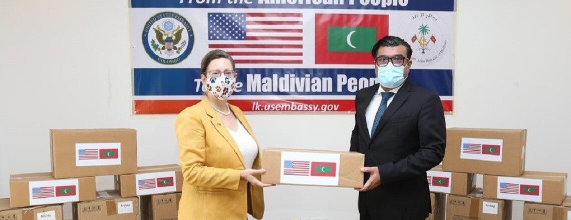 United States Donates Equipment for Maldivian Intensive Care Units