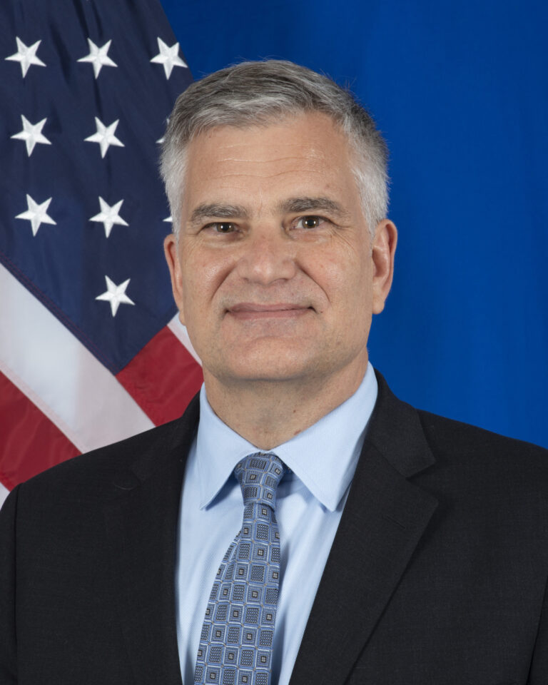 Photo of Charge d'Affaires Steven C. Walker