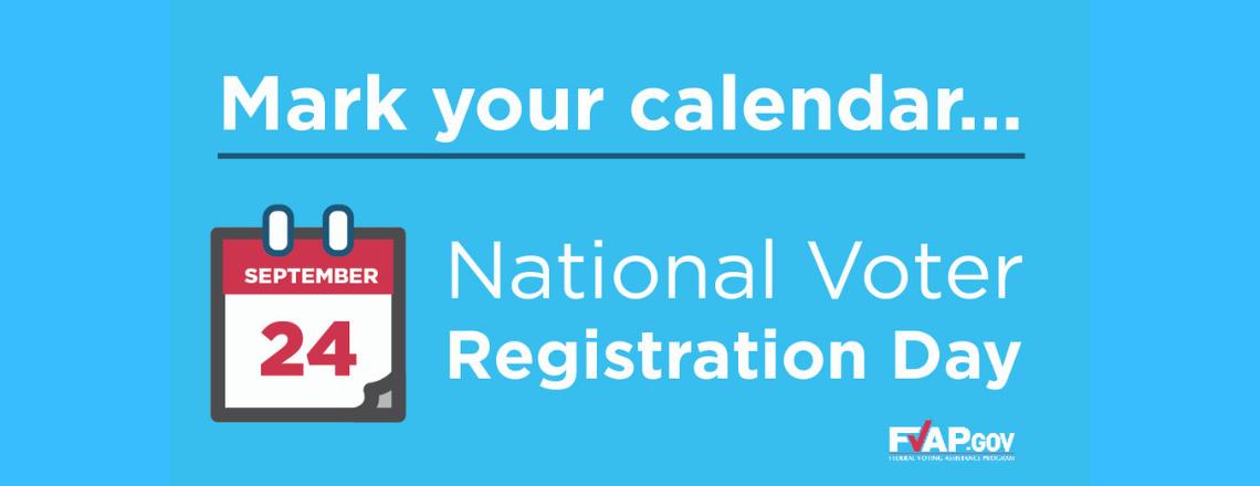 Mark your calendar …