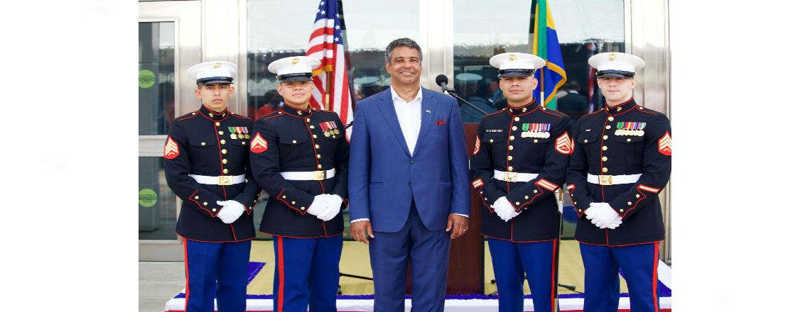 Discours de l'Ambassadeur Danies à l'occasion de la Fête de l'Indépendance des Etats-Unis
