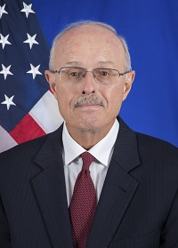 Photo of Chargé d'Affaires Robert E. Whitehead
