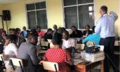 Trainer talking TIP Training 2019