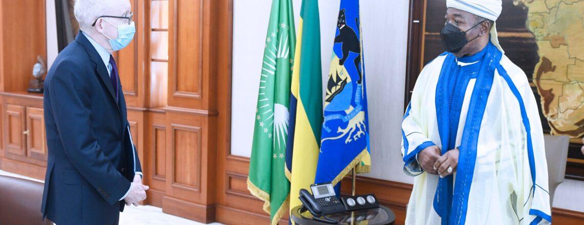 Chargé d'Affaires, a.i. Samuel Watson Meets Gabonese President Ali Bongo Ondimba