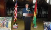 Ambassador Henshaw Delivers Remarks.