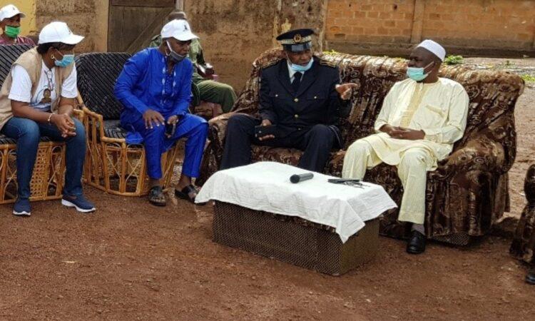 Les autorités régionales, préfectorales et religieuses de Labé ont participé au lancement de la campagne annuelle de chimio-prévention saisonnière du paludisme le 03 juillet 2020.