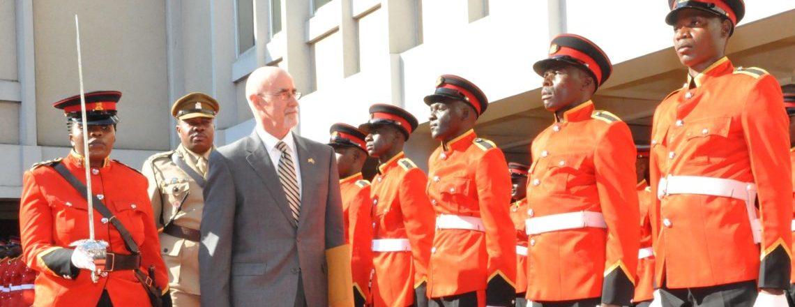 New Amb. to Malawi Robert Scott accredited by President Mutharika