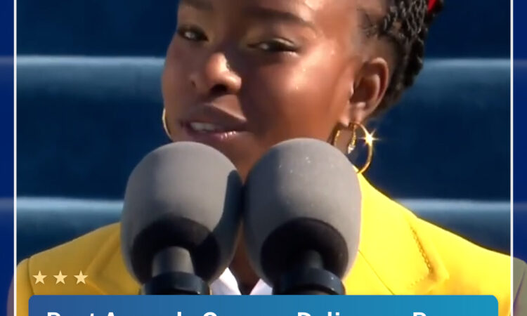 [EN] Poet Amanda Gorman Delivers a Poem at President Biden's Inauguration_Thumbnail