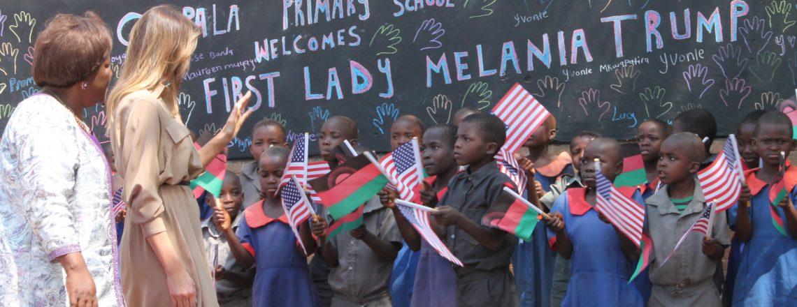 U.S. First Lady Melania Trump's Visit to Malawi