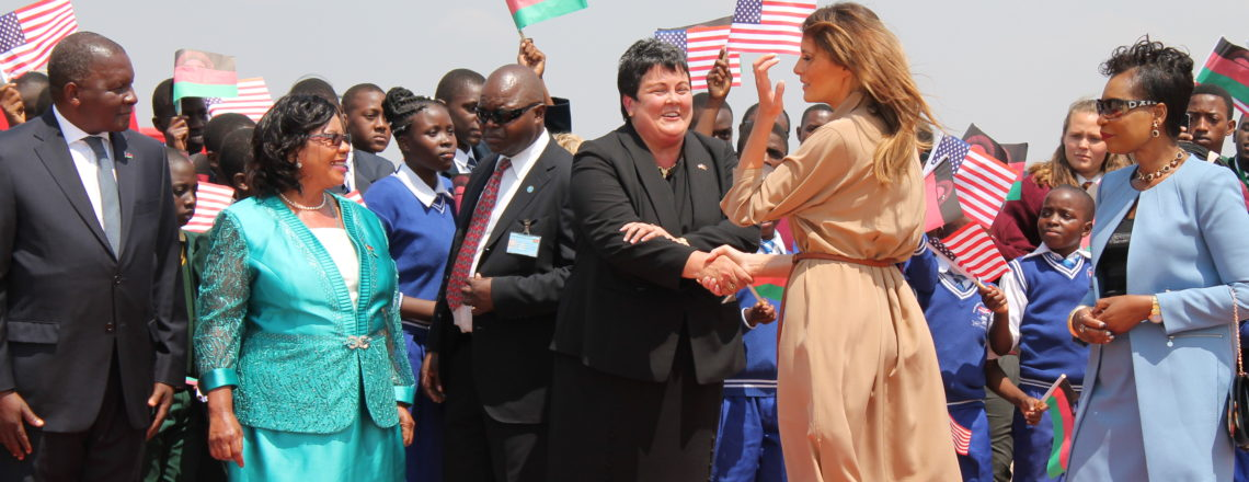 The First Lady of the United States Visits Malawi