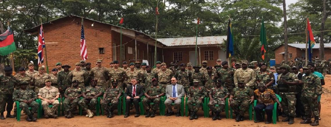 Malawi Battalion 11 Graduation Ceremony