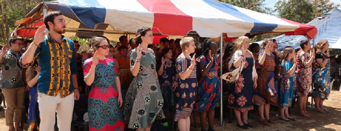 63 Peace Corps Volunteers Start their Service in Malawi