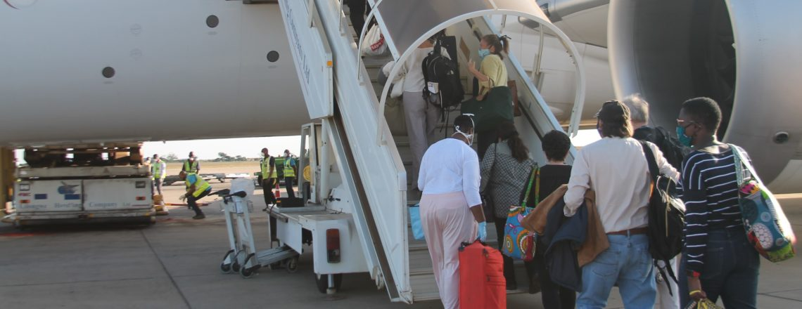 U.S. Embassy Repatriates Citizens