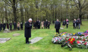 Ambassador Stephen King attended the annual commemoration ceremony for the Romani victims of Nazism at the Lety Memorial
