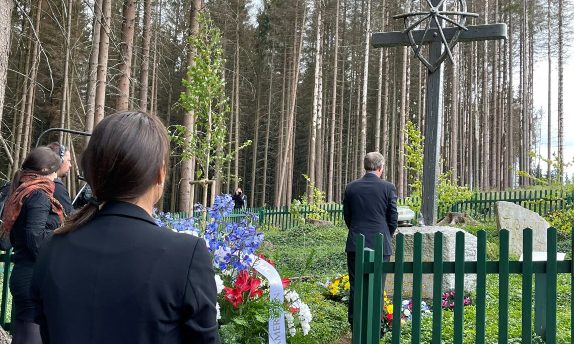 Human Rights Officer Iva Ziza Commemorates Roma and Sinti Holocaust Victims