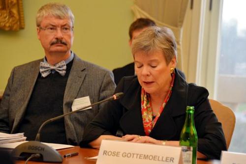 Photo of Rose Gottemoeller at Prague Agenda