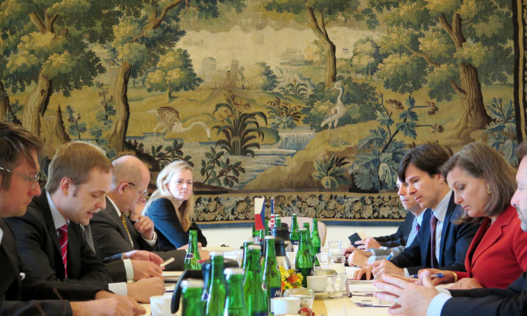 Assistant Secretary of State Victoria Nuland led the 6th US-Czech Strategic Dialogue hosted by the Czech MFA on June 18, 2015. (photo MFA)