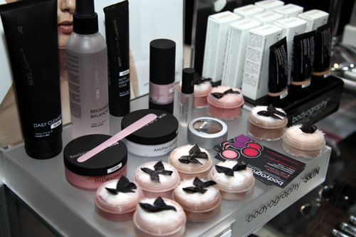 Bodyography products at World of Beauty and Spa Spring 2014.