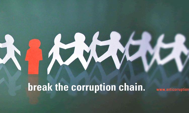 """""""Break the Chain"""" je tématem letošního Mezinárodního dne proti korupci."""