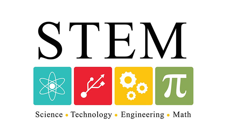 Science, Technology, Engineering and Math logo