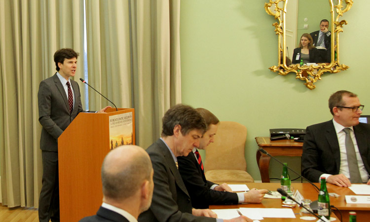U.S. Ambassador Schapiro at the Euro-Atlantic Security: A Pre-Warsaw Assessment Conference.