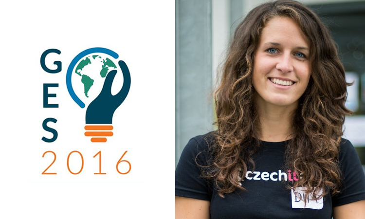 Young Czech IT Specialist Dita Prikrylova Attends Global Entrepreneurship Summit in Palo Alto, U.S.